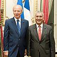 Avec Brice Hortefeux, Ministre de l'Intérieur, de l'Outre-Mer, des Collectivités territoriales
