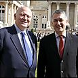 Avec André Santini, Député-Maire d'Issy-les-Moulineaux