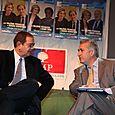 Avec Patrick Ollier, Maire de Rueil-Malmaison et Ministre chargé des relations avec le Parlement