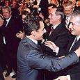 Avec Nicolas Sarkozy, Président de la République