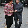 Avec Roselyne Bachelot, Ministre des Solidarités et de la Cohésion sociale
