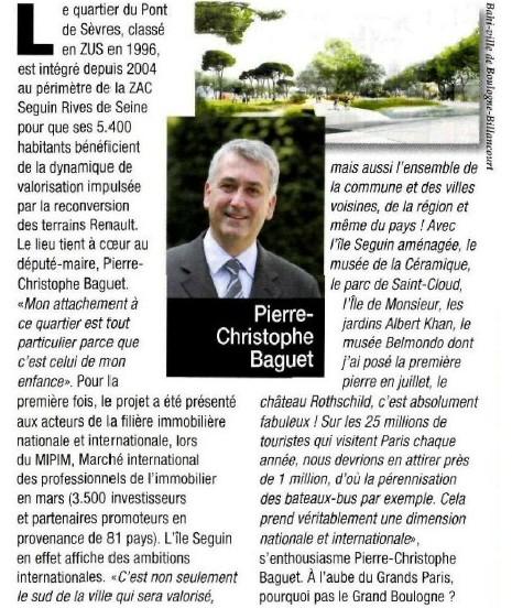 110401 Entreprendre - L'île Seguin ne désespère plus Boulogne-Billancourt