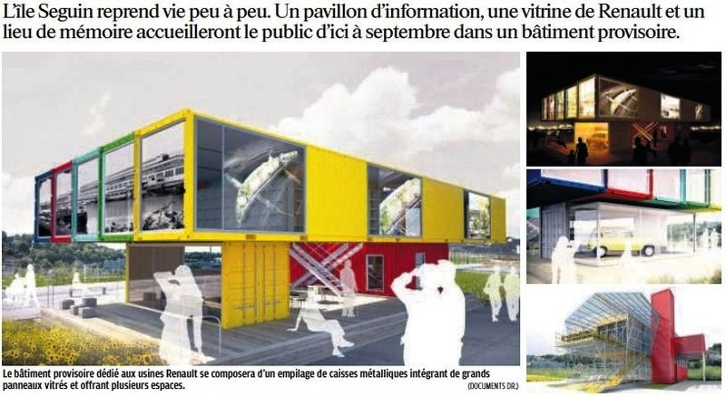 110517 Le Parisien - Lieu de mémoire Renault
