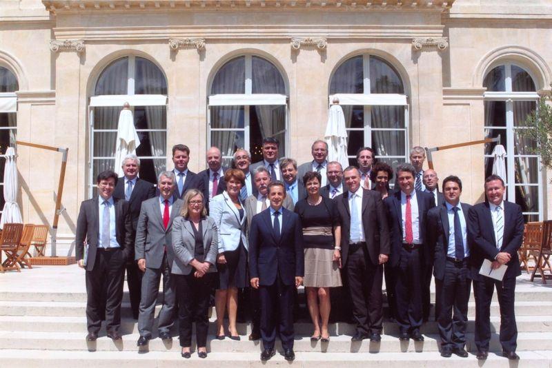110622 Elysée - groupe députés 2012