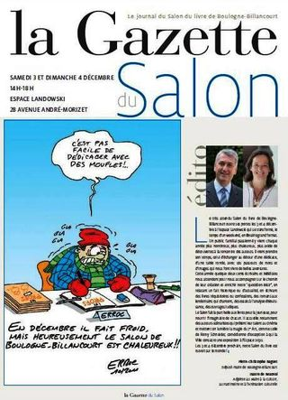 Salon du livre 2011-Gazette