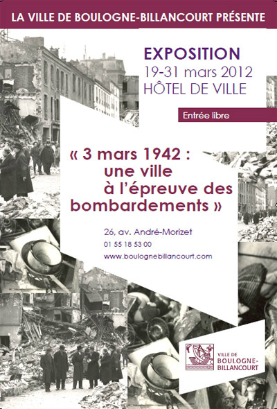 Expo bombardement BB