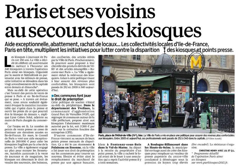 130416 Le Parisien - Kiosques01