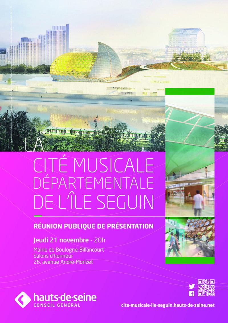 Cité Musicale-Réunion publique